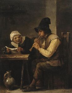 Duet, by David Teniers de Jonge - (1640s) via Wikimedia Commons
