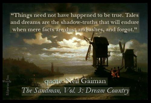 Neil Gaiman Sandman quote meme
