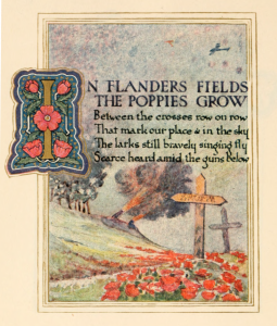 800px-In_Flanders_Fields_(1921)_illustrated by Ernest Clegg