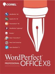 corel wordperfect office 8