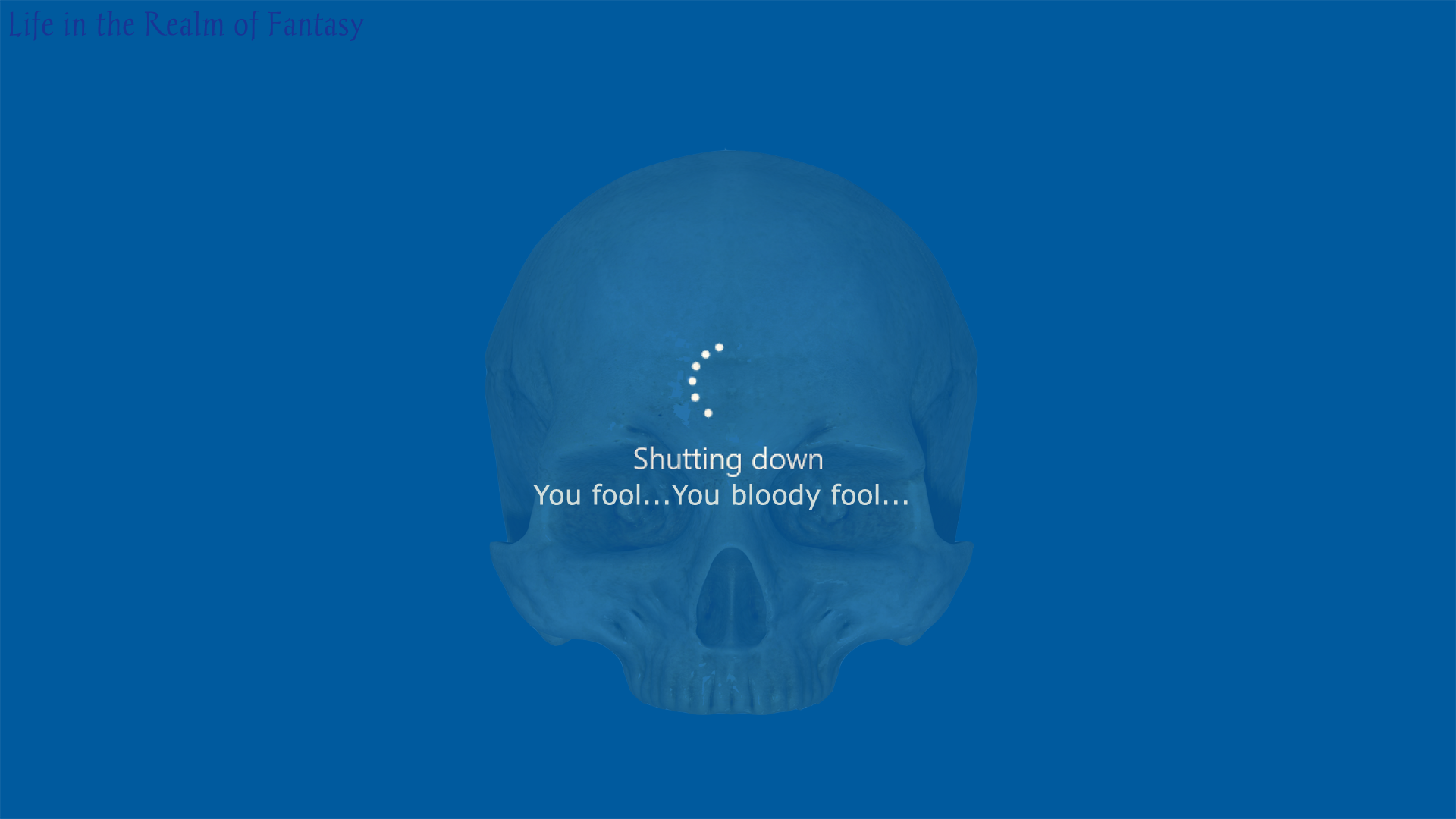Windows 10 Blue Screen Of Death Life In The Realm Of Fantasy