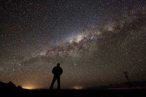 Admiring the Galaxy |CCA 4.0 ESO/A. Fitzsimmons
