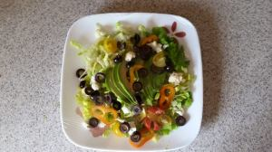 avacado dinner salad