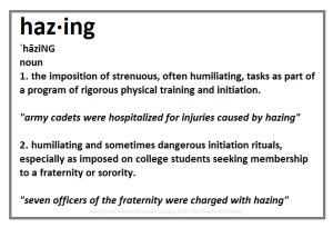 hazing-definition
