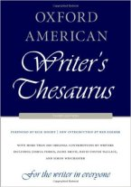 ozford-american-writers-thesaurus