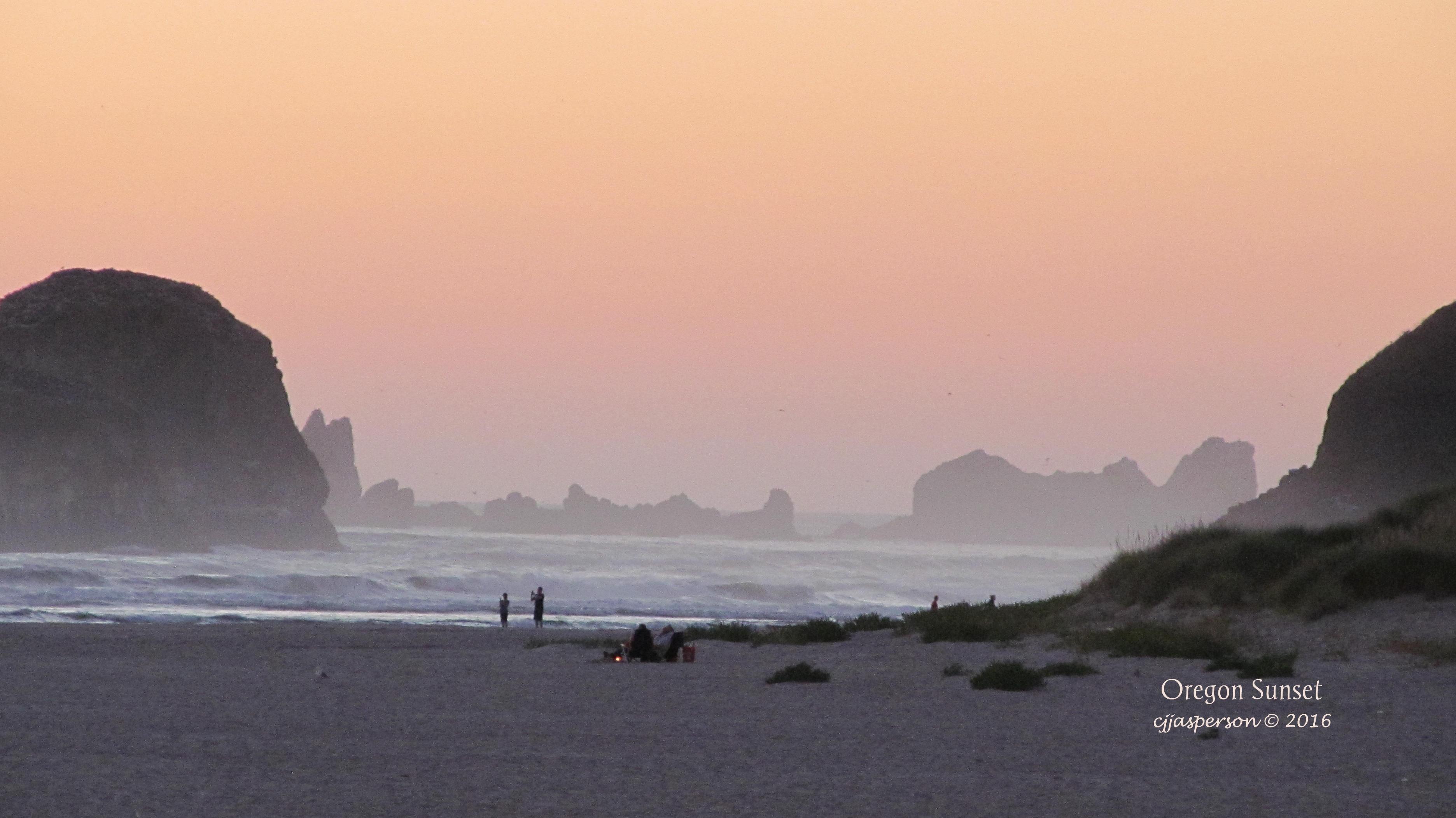 Oregon Sunset Taken August 12, 2016 CJJasperson