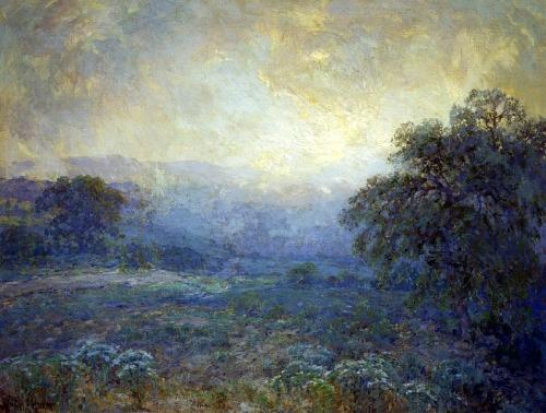 Julian_Onderdonk_(1882-1922)_-_Dawn_In_The_Hills_(1922)