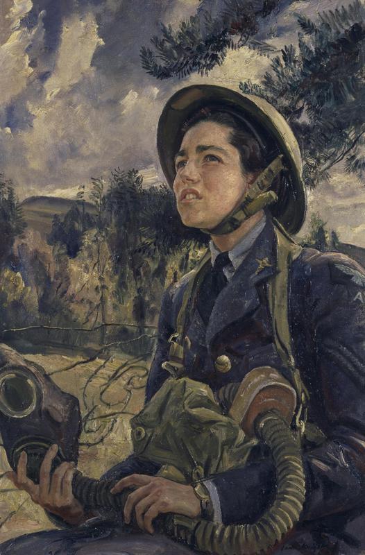 Corporal_J.D.M_Pearson,_GC,_WAAF_(1940)_(Art._IWM_ART_LD_626)