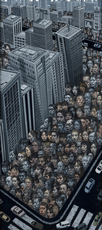 Carl-randall-tokyo-painting-cityscape