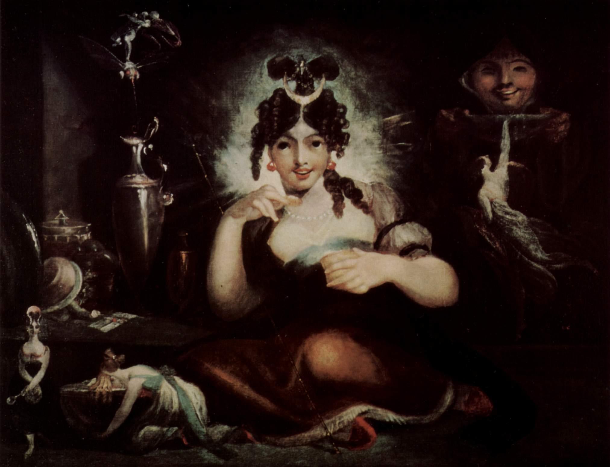 The Fairy Mab Johann_Heinrich_Füssli_038
