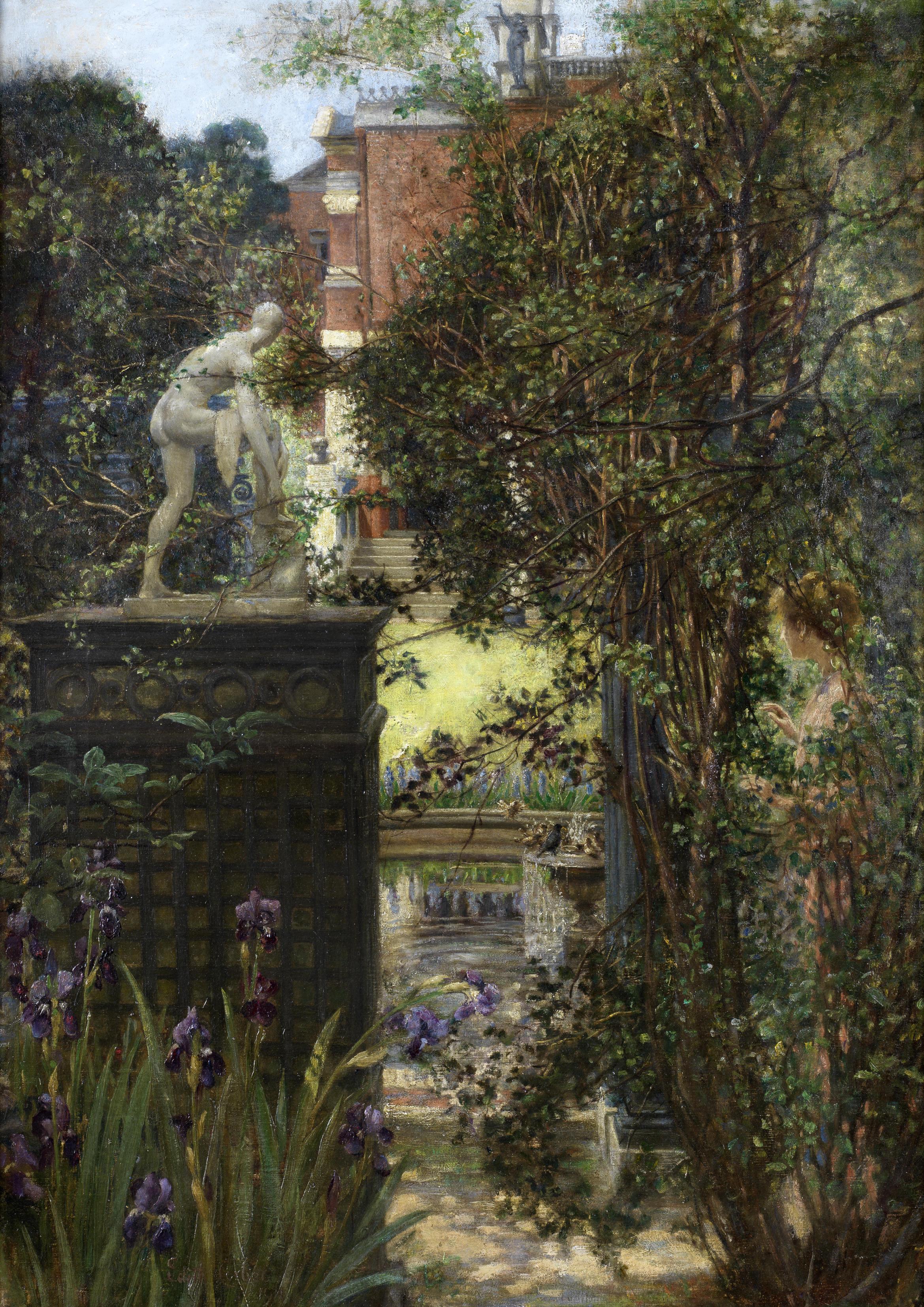 Edith_Corbet_A_London_garden