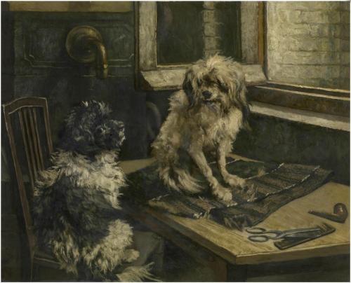 Jan_Stobbaerts_-_Dogs